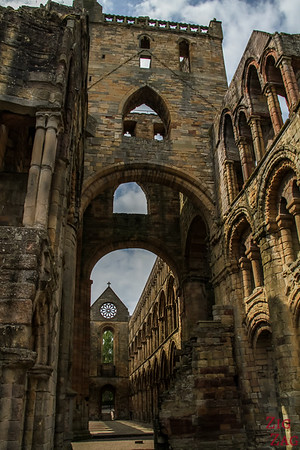 Jedburgh Abbey Scotland  inside 1