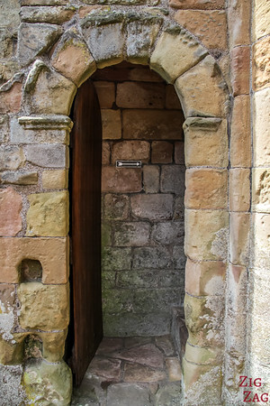 Jedburgh Abbey Scotland tower 1