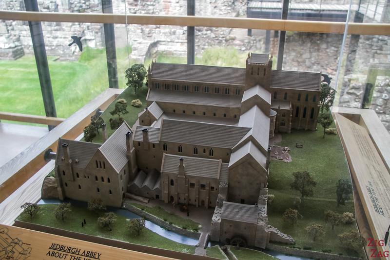 Jedburgh Abbey Scotland museum 1