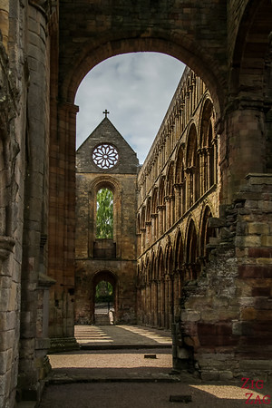 Jedburgh Abbey Scotland  inside 2