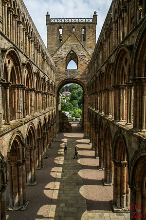 Jedburgh Abbey Scotland tower 5