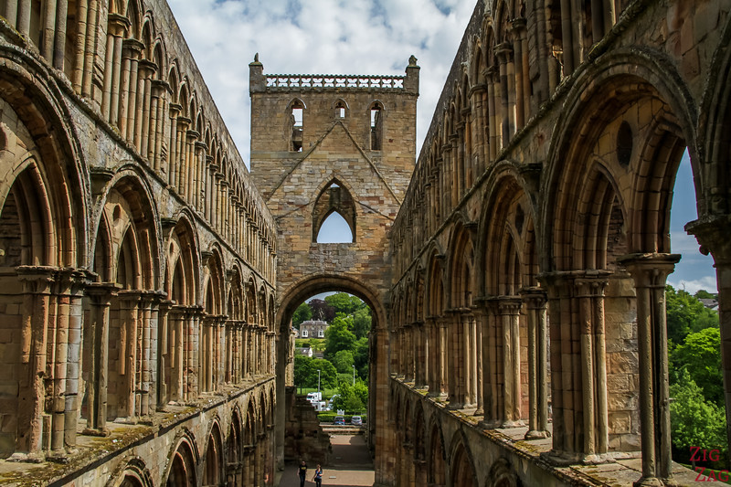 Jedburgh Abbey Scotland tower 3