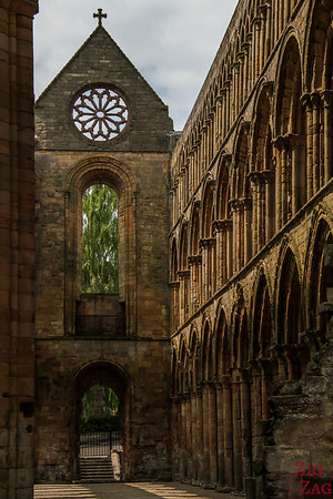 Jedburgh Abbey Scotland  inside 4