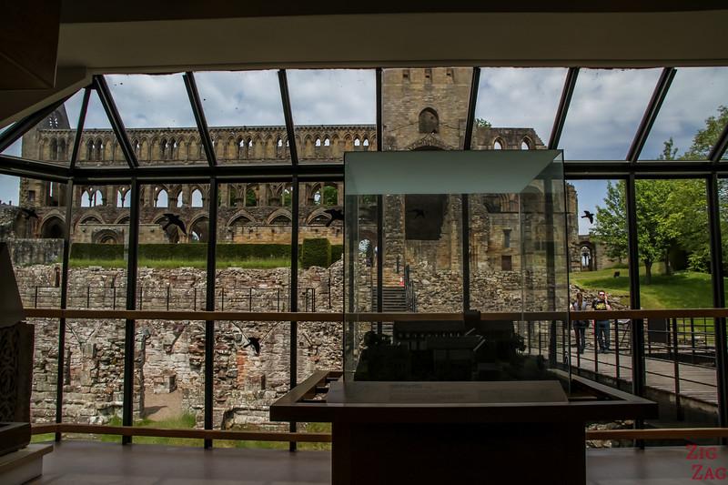 Jedburgh Abbey Scotland museum 3