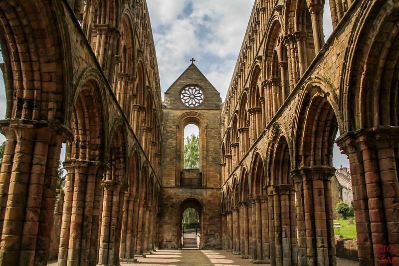Photographing Scotland - Jedburgh Abbey