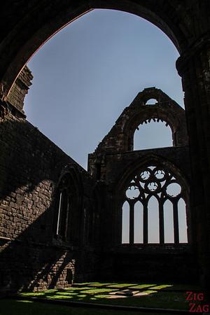 Sweetheart Abbey Scotland - love story 2