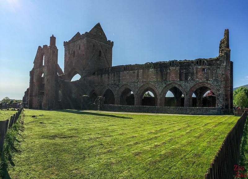 Sweetheart Abbey Scotland - Outside 1
