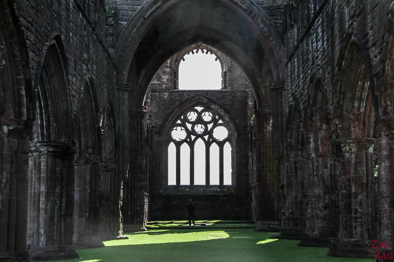 Sweetheart Abbey Scotland - love story 1