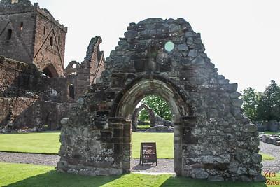 Sweetheart Abbey Scotland - Entrance