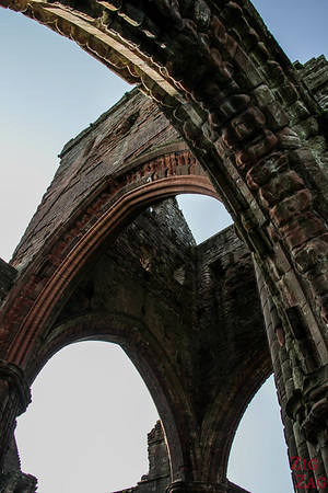 Sweetheart Abbey Scotland - exploring the ruins 10