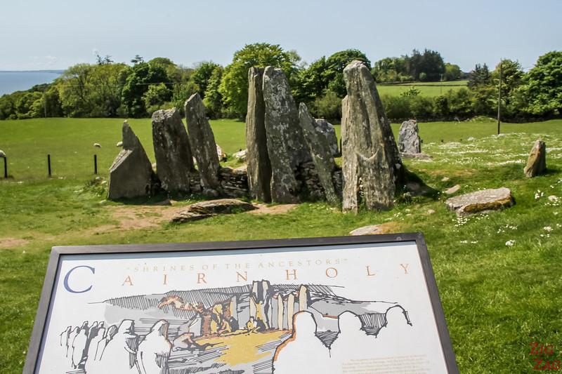 Cairnholy I - Stone Cairns Scotland 1