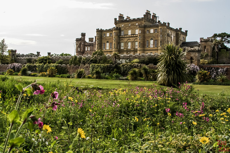 Culzean - Garden and fountain 2
