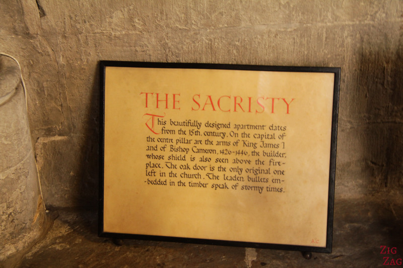 Sacristy St Mungo's Cathedral Glasgow Scotland 1