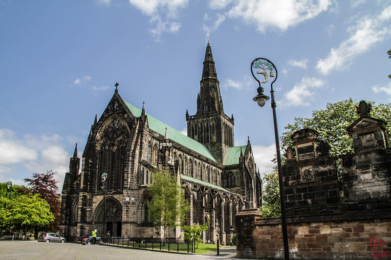 Glasgow Cathedral architecture Exterior 1
