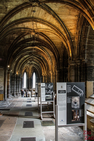 Lower church of St Mungo's Cathedral Glasgow Scotland 3