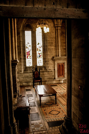 Sacristy St Mungo's Cathedral Glasgow Scotland 3