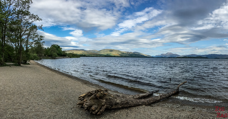 Best views of Loch Lomond Scotland - Duck Bay 1