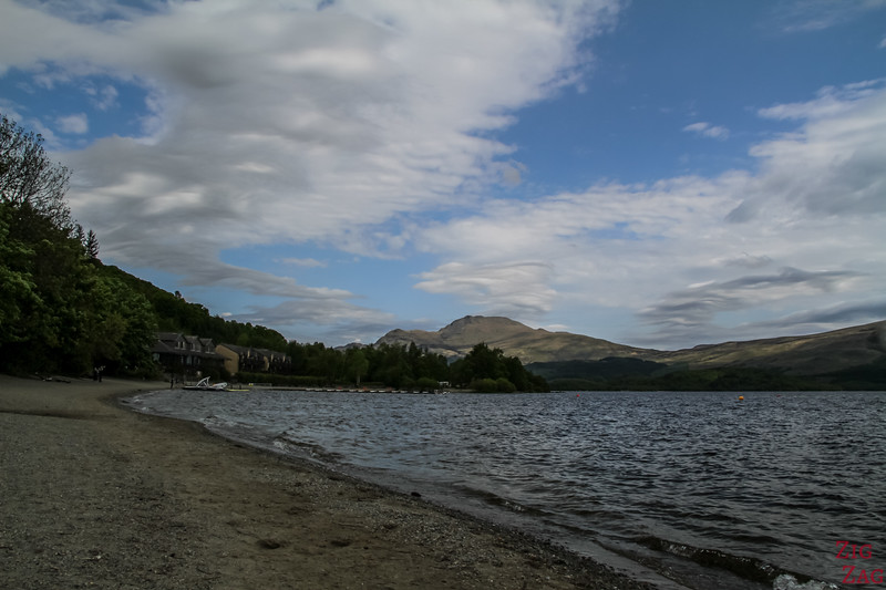 Best views of Loch Lomond Scotland - Luss 2