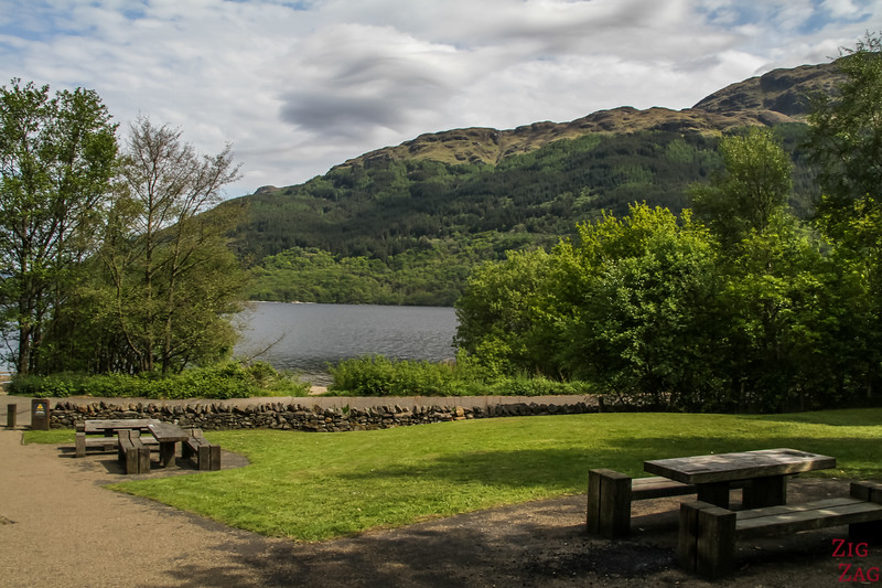 Loch Lomond Schottland - firkin point 1