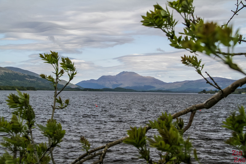 Best views of Loch Lomond Scotland - Duck Bay 4