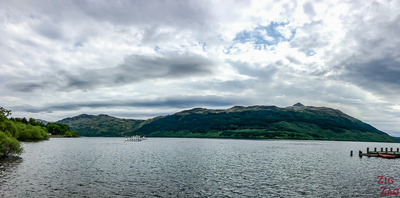 Best views of Loch Lomond Scotland - Tarbet 3