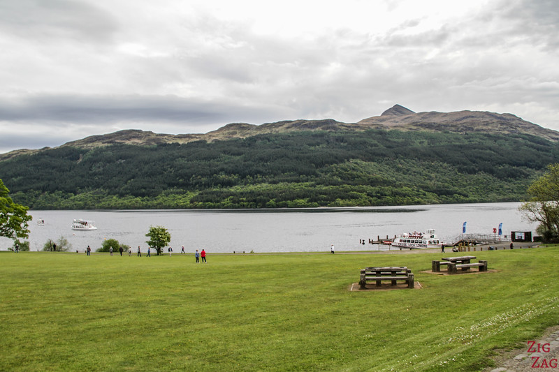 Best views of Loch Lomond Scotland - Tarbet 1
