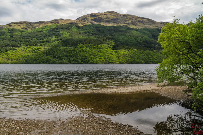 Best views of Loch Lomond Scotland - Firkin Point 4