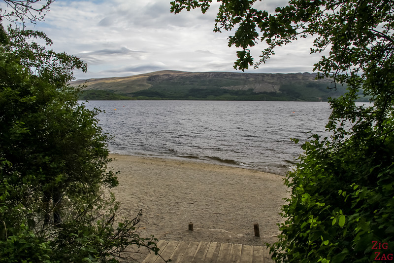 Best views of Loch Lomond Scotland - Luss 1