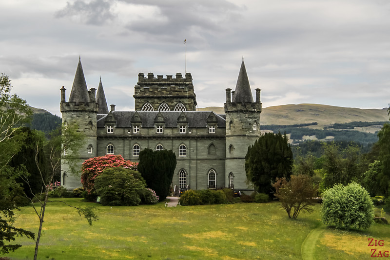 View of Inveraray Castle Scotland 2
