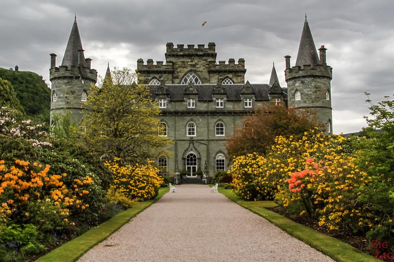 Gärten von Inveraray Castle 6