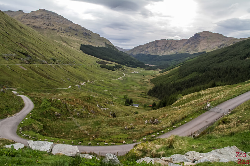 A83 viewpoint Rest and Be thankful 1