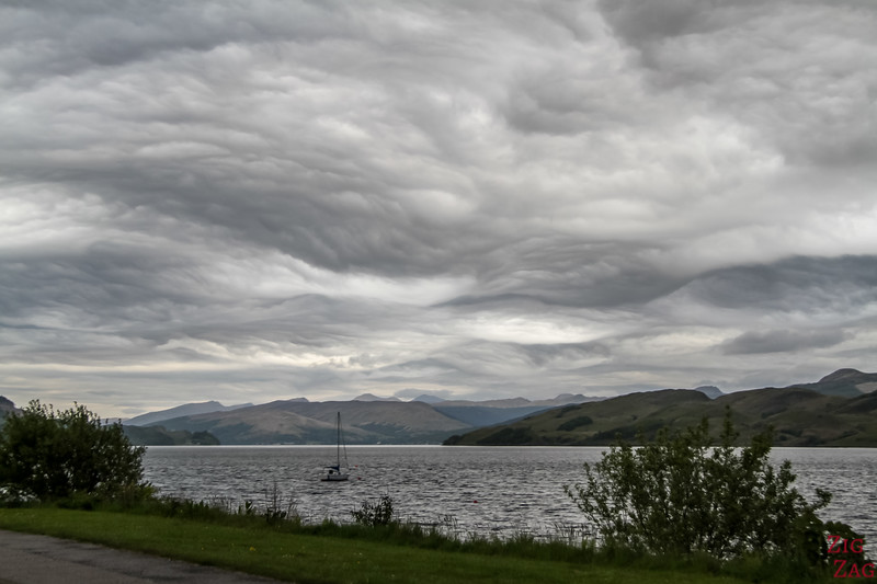 Scotland Road Trip - Stunning skies 2