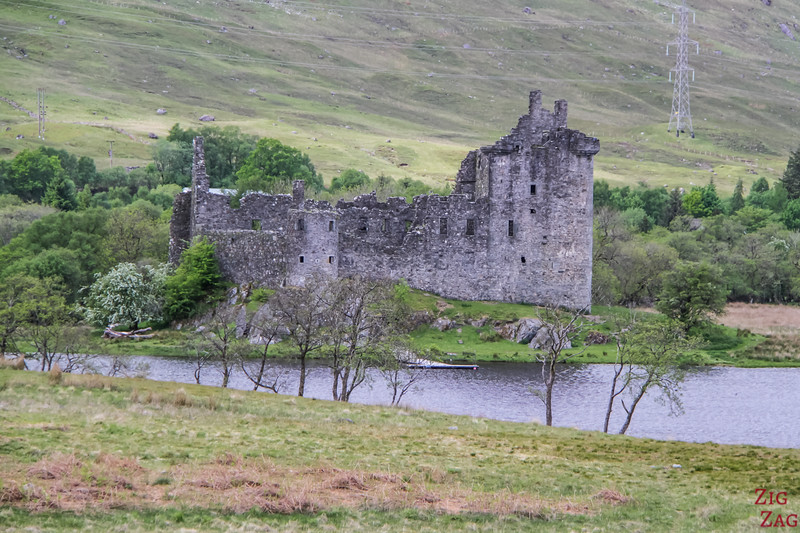 Kilchurn Castle Scotland 3