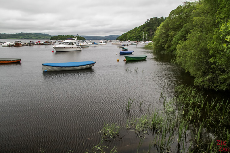 Best views of Loch Lomond Scotland - Balmaha 3