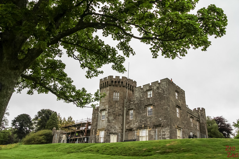 Best views of Loch Lomond Scotland - Balloch Castle 3