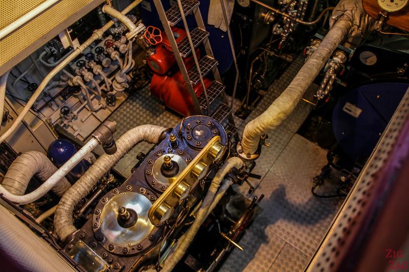 Sir Water Scott Boat engine