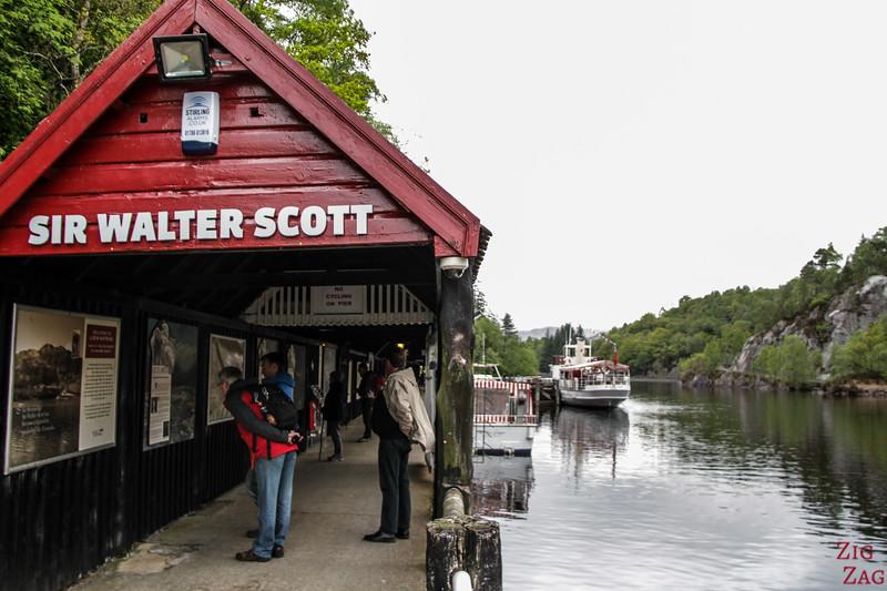 Loch Katrine Cruises Trossachs Pier