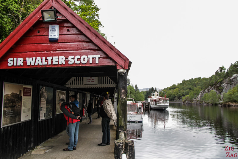 Loch Katrine Cruises Pier