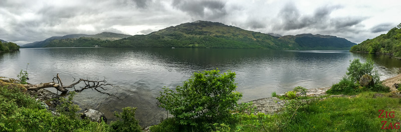 Best views of Loch Lomond Scotland - North 2