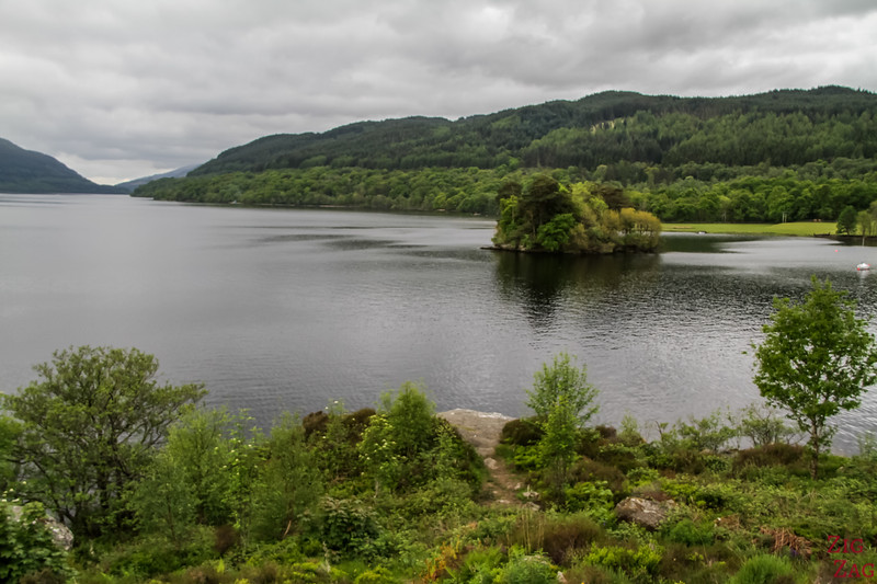 Best views of Loch Lomond Scotland - Inveruglas 4