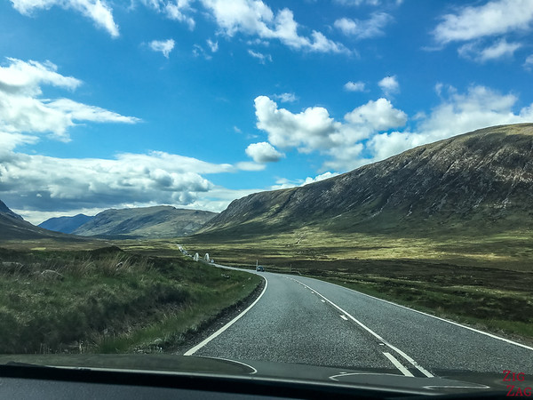 Driving in Scotland - remote areas