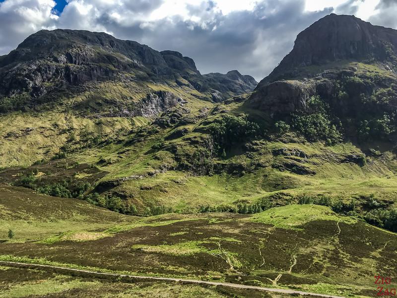 A82 GlenCoe Ecosse - Three sisters montagnes 5