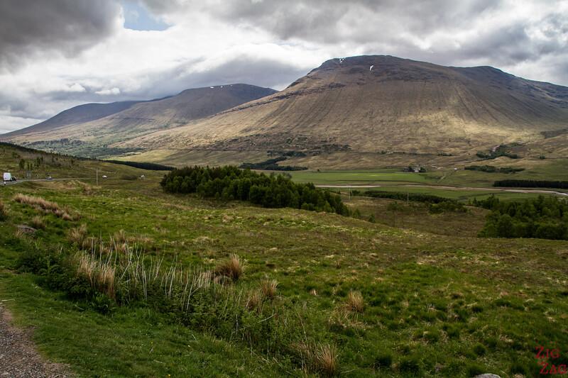 Glencoe Route - 1. Haltestelle - Loch Tulla Aussicht 2