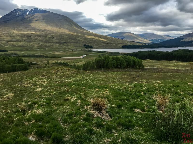A82 Glen Coe Ecosse - Point de vue Loch Tulla 2