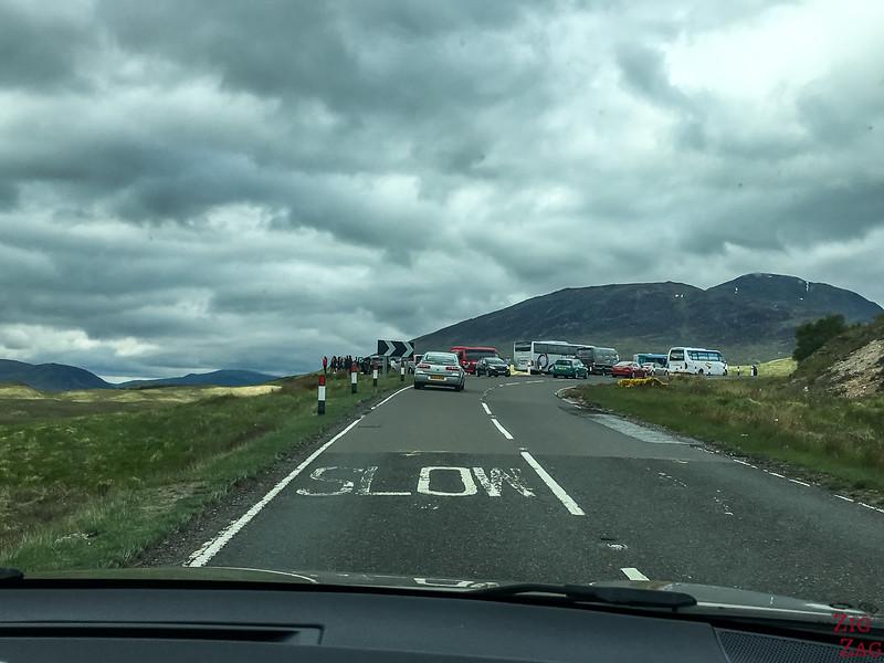 A82 Glen Coe Ecosse - Point de vue Loch Tulla 1