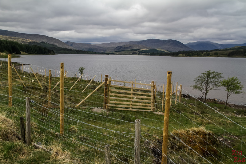 Glencoe Route - 1. Haltestelle - Loch Tulla Aussicht