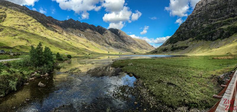A82 Glen Coe Scotland - Loch Achtriochtan 3