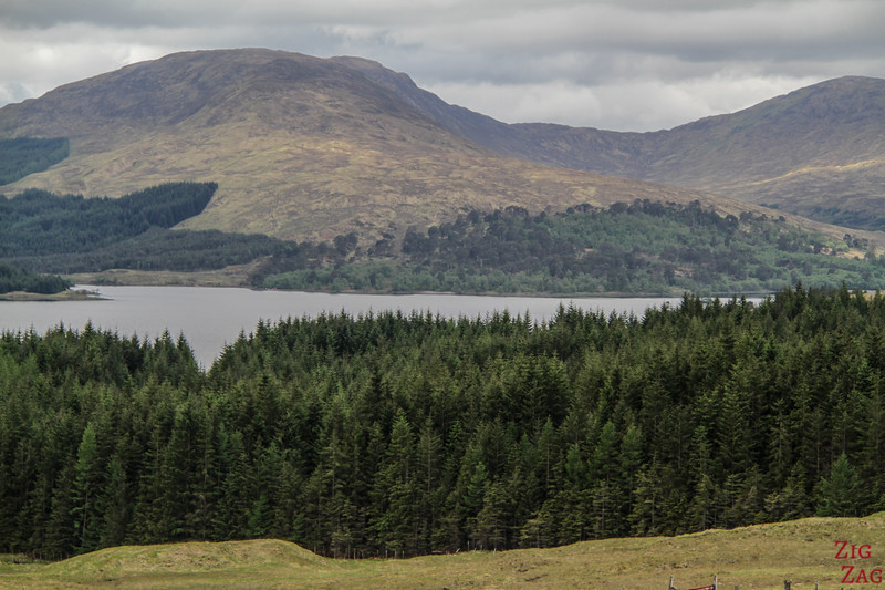 Glencoe Route - 1. Haltestelle - Loch Tulla Aussicht 3