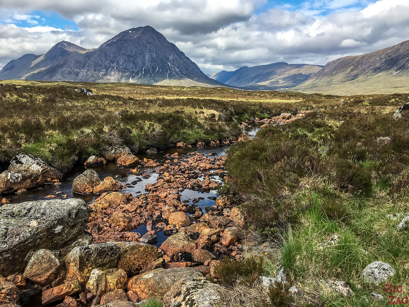 Buachaille Etive Mor - from the Ski resort road 3