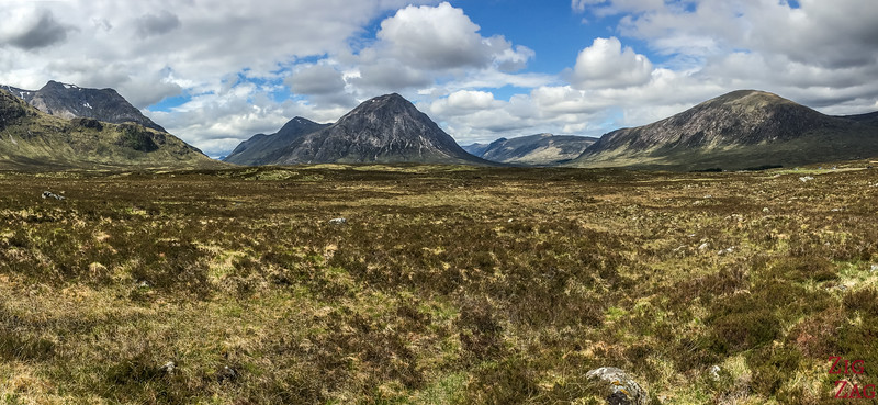 Buachaille Etive Mor - from the Ski resort road 6
